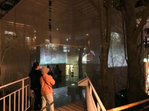 監獄歴史館メイン展示「監獄体感シアター」